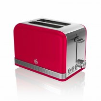 2 SLICE RETRO RED TOASTER ST19010RN