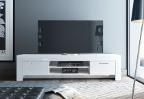 MAX TV STAND 2 DOORS WHITE 202M02BL