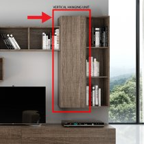 MAX WALL CABINET ECLIPSE ELM(SOFT CLOSING) MAXPE01E