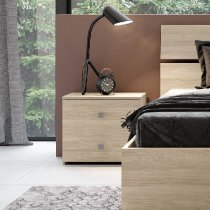 GINGER x2 NIGHTSTANDS 2 DRAWERS OLMO 30C201O