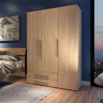 ENJOY WARDROBE 3 DOOR 2 DRAWER OAK 96A08Q
