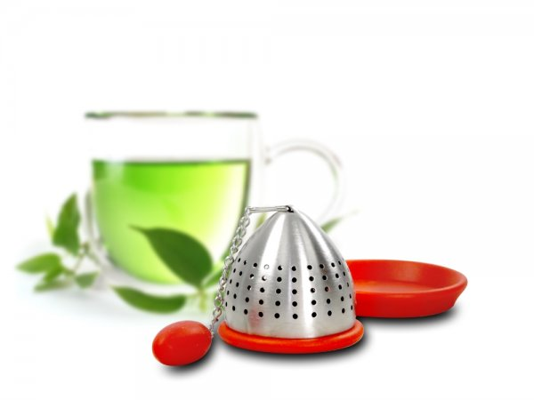 TEA STRAINER RED 28YWE643 K12