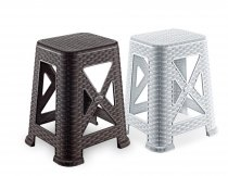 RATTAN STOOL TB-300 WHITE ONLY